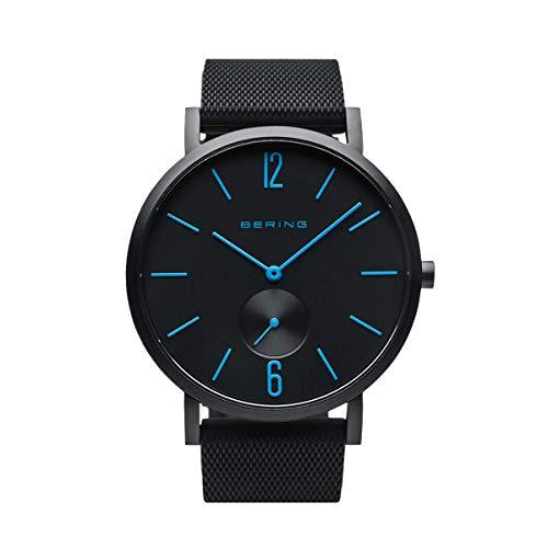 BERING Unisex Analog Quartz Uhr mit Silikon Armband 16940-499