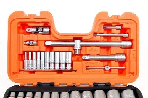 Bahco S460 Socket Set of 46 Metric 1//4in Drive