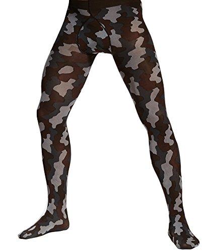Adrian - Collant homme camouflage - noir - L
