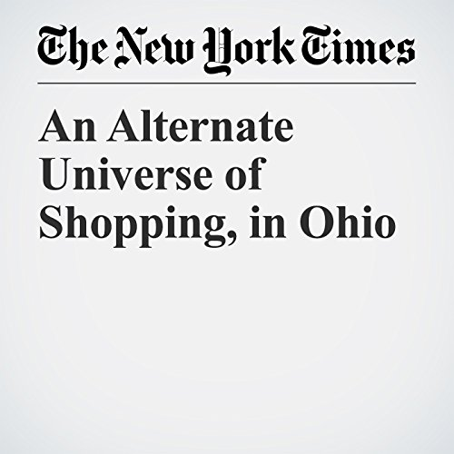 An Alternate Universe of Shopping, in Ohio audiobook cover art