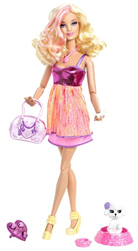 Mattel Barbie X2279 - Fashionistas mit Hündchen und Ring, Puppe