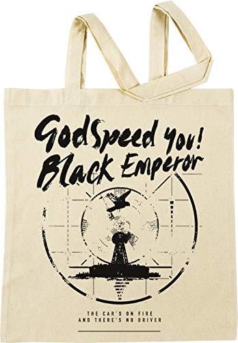 Vendax Godspeed You! Black Emperor Beige Borse per La Spesa Riutilizzabili