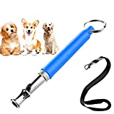 Buerye Adjustable Pet Dogs Whistle to Stop Barking Neighbors Dog, Ultrasonic Sound Flute