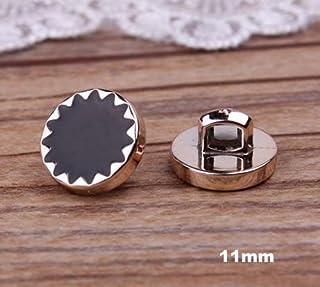 Propenary - 30個/ロットプラスチックボタン、ゴールドカラーメッキ縫製スターボタン、アパレル、アクセサリー(AA-45)