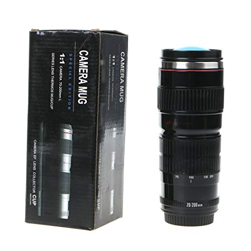 Portable Camera Lens Shaped Thermos