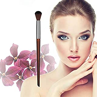 1PC Professional Eye Brush Small Flat Eyeshadow Make Up Brush Wooden Handle Makeup Brushes Beauty Tool Accessories