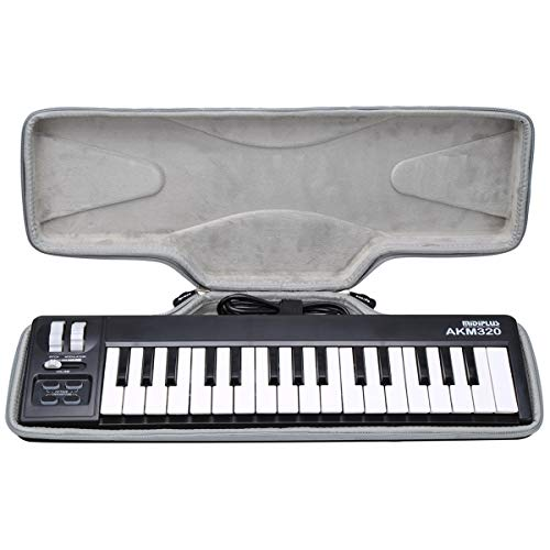 Aproca Hard Carry Travel Case Compatible with midiplus 32-Key Midi Controller (AKM320)