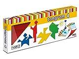 Cayro - 4 Tangrams Madera - Juego de ingenio - Puzzle de Habilidad - 851