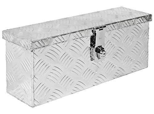 Truckbox Box Werkzeugkiste Anhängerbox Deichselbox 15 Größen Alumium Trucky, Boxentyp:D015 (50 x 14 x 20 cm)