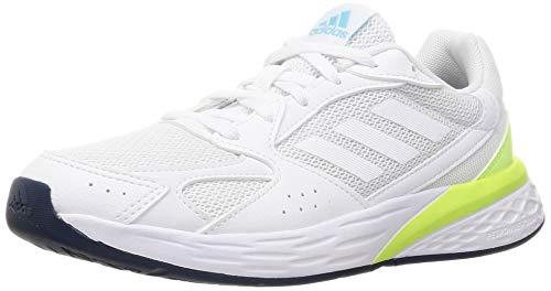 adidas Response Run, Zapatillas de Running Mujer, FTWBLA/FTWBLA/AZMATR, 38 2/3 EU