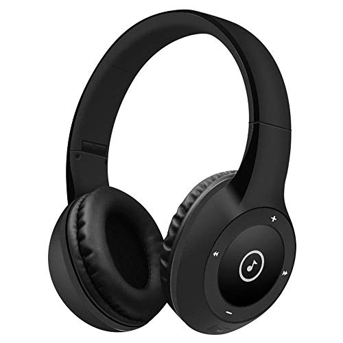 Best Shopper - T8 Stereo Bluetooth Over- Ear Headphones Wireless Folding Gaming Headset with Microphone - Black