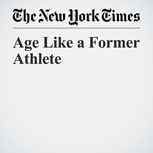 Age Like a Former Athlete copertina