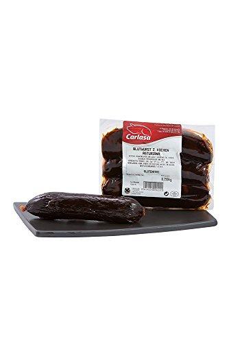 Carlasa Morcilla - Asturianische Blutwurst zum Kochen, Glutenfrei (1x 250 g)