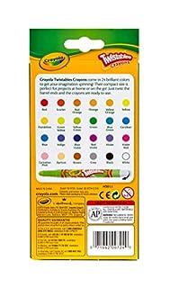 اسعار Crayola Twistables Crayons Coloring Set, Kids Indoor Activities at Home, 24 Count