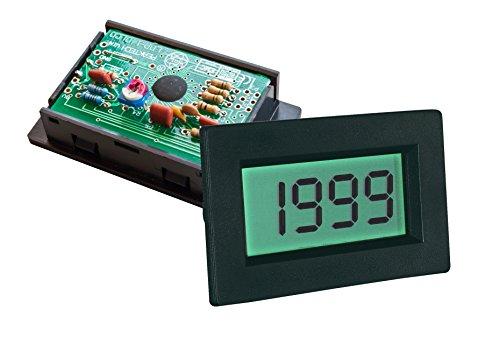 PeakTech Digital Einbau Voltmeter / Amperemeter 2000 Counts, 1 Stück, LDP-140