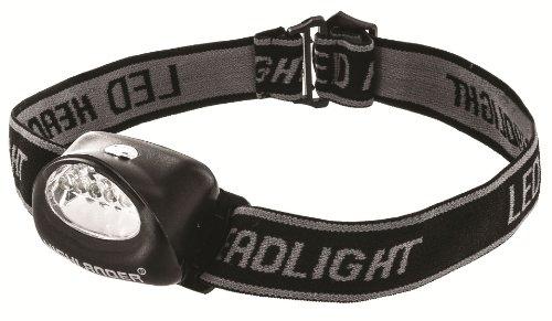 Highlander 5 LED Voyage aventure lampe frontale Lanterne camping Festival Noir lampe lampe de lecture