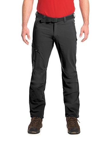 Maier Sports Wanderhose Roll-up Nil 132001, Pantaloni Funzionali Uomo, Nero (Black 900), 52