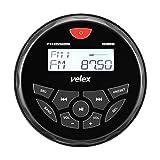 Wasserdicht Bluetooth Marine Stereo-Empfänger mit MP3 Player am AM/FM Radio und USB für Streaming Musik auf Booten Golf Carts ATV UTV und Spa Hot Tubs (w/o DAB+)
