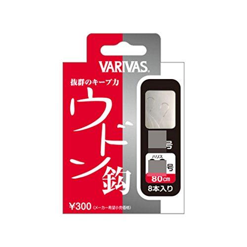 VARIVAS(バリバス) NEW へら糸付 ウドン鈎 5号(ハリス0.5号)