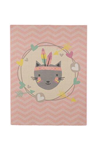 Tapis enfant Feather Cat