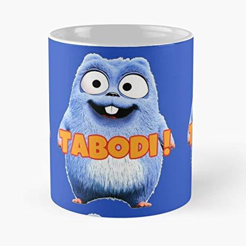 The Bear and Baby Tv Patrol YouTube Paw Grizzy Lemmings Grizzly Kids Best Taza de café de cerámica de 325 ml