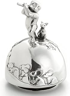 Royal Selangor Hand Finished Fairy Tales Collection Pewter Pied Piper Musical Carousel