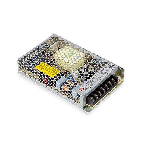 LRS-150-24 LED Netzteil Trafo Mean Well LRS-150-24 Schaltnetzteil case 24 V/DC/0-6,5/ 156W LED Transformator für LED Beleuchtung