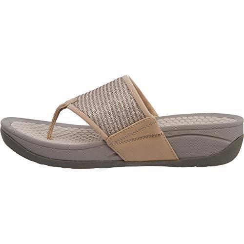 BareTraps Women's Dasie Wedge Natural Sandal 9 M US