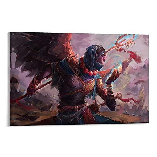 Póster de salvia demonio pintura decorativa lienzo para pared de sala de estar carteles dormitorio pintura 60 x 90 cm