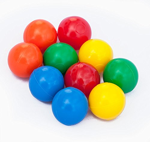 mabro 60055, Kunststoffkugeln - Sortiment, 10x farbige Plastikkugeln; Ø 25 mm