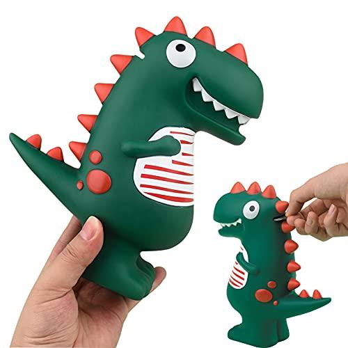 LEcylankEr Hucha Originales de Dinosaurio,Huchas de Juguete T-Rex Verde de Dibujos Animados,Decoración de Habitación,Regalo...