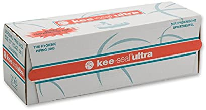 DecoPac Kee-Seal Ultra Disposable Pastry Bags, 21-Inch, Clear