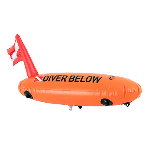 Mares Torpedo Boje, Orange, One Size