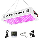 MORSEN LED Grow Light 600W Grow Lamp for Indoor Plants Full Spectrum, with Daisy...