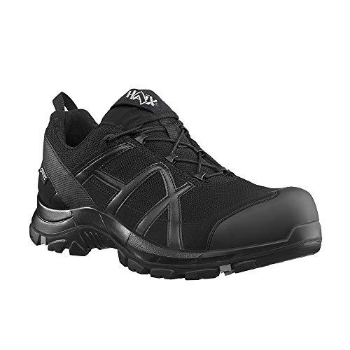 Haix Black Eagle Safety 40.1 Low/Black-Black S3-Sicherheitsschuhe für Handwerk und Industrie. 44