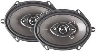 "Audiotek 380W High Performance Speakers 5x7"" 6x8"" K-68.4S"