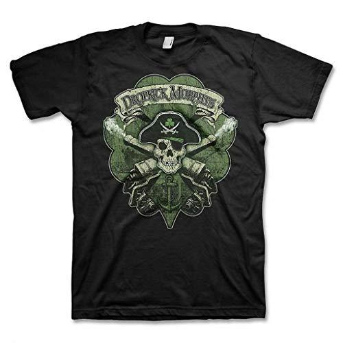 Dropkick Murphys Skull Cannon Men's Black T-Shirt SM, MD, LG, XL, XXL New