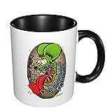 Tazza da caffè in ceramica con motivo di ratto e anime, idea regalo per la festa di San Valentino, festa della mamma, per uomini e donne, tazze da tè e caffè