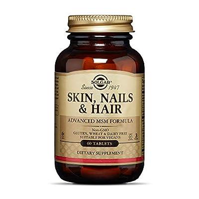Solgar - Skin, Nails and Hair, Advanced MSM Formula Tablets