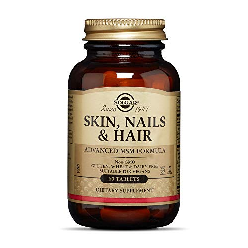 Nutrients For Skin, Nails, And Hair; Many nutrients cannot be delivered to the body externally; Solgar Skin, Nails & Hair delivers a daily dose of Zinc (136% DV), Vitamin C (133% DV), Copper, MSM, and other key nutrients that support collagen Zinc & ...