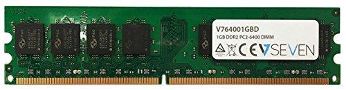 V7 V764001GBD V7 1GB DDR2 PC2-6400 800Mhz DIMM desktop Modulo di memoria - V764001GBD