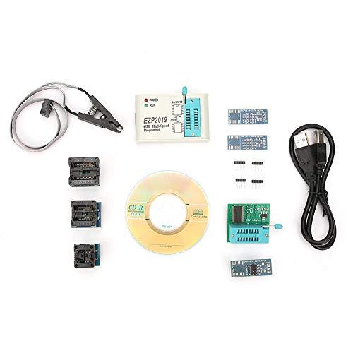 EZP2019 USB-Programmierer, Hochgeschwindigkeits USB EEPROM Flash Programmierer für 24 25 93 BIOS mit Offline Kopierfunktion, Programmierer USB Schnittstelle(#2)