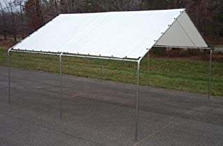 Harpster Canopies 18 ft. X 20 ft. Canopy - Heavy Duty 17 Gauge Frame - White Top