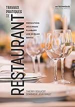 Travaux Pratiques de Restaurant (Tomes 1 & 2 Reunis) de Thierry Boulicot