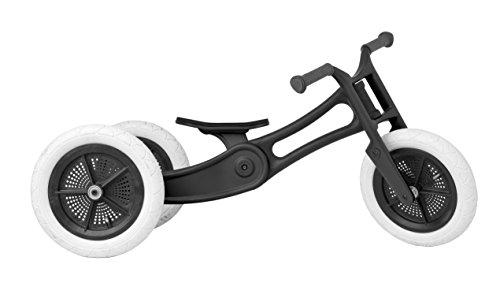 WISHBONE BIKE - RE2 Black - 3-Bikes-in-1 - ab dem 1. Jahr bis zum 6. Jahr verwendbar