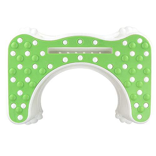 LQY toiletbril, voetenbank met opberggroef, plastic trapkruk, PP-materiaal, geschikt voor volwassenen en kinderen
