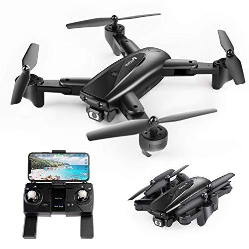 SNAPTAIN SP500 Drone GPS con 1080P FHD Telecamera, Quadricottero RC con GPS Ritorno Home, Seguimi, Controllo dei Gesti, Volo Circolare, Auto Hover Trasmissione WiFi 5G