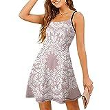 Vestido de mujer con dobladillo oscilante, elástico, estilo étnico, para fiesta