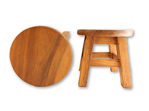 Kinder Kinder Holz Hocker, Sessel–Uni Design–Keine Muster