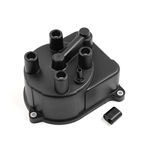 uxcell 30102-P54-006 Automobile Car Ignition System Distributor Cap for Honda Civic 1995-2000 Accord 1998-2002 CR-V 1997-2001 Del Sol 1995-1997 DC12V